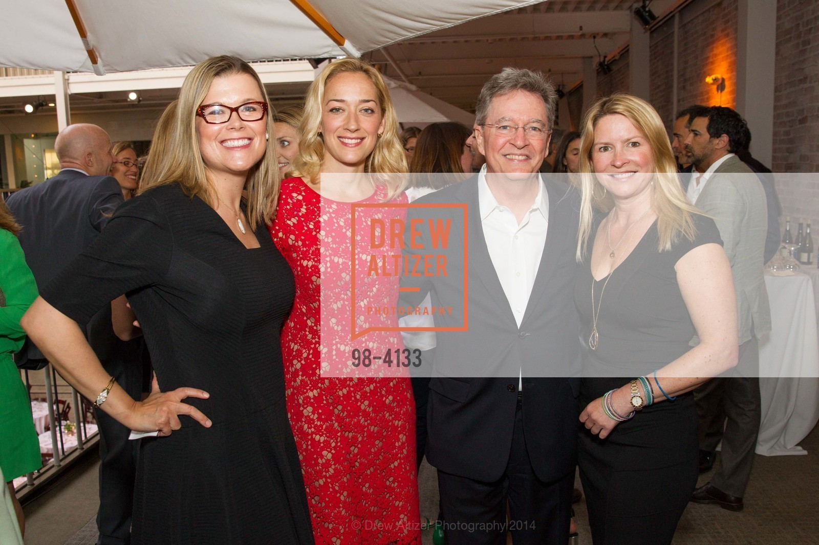 Heather White, Chris Connor, Ken Cook, Gabrielle Hull, Photo #98-4133