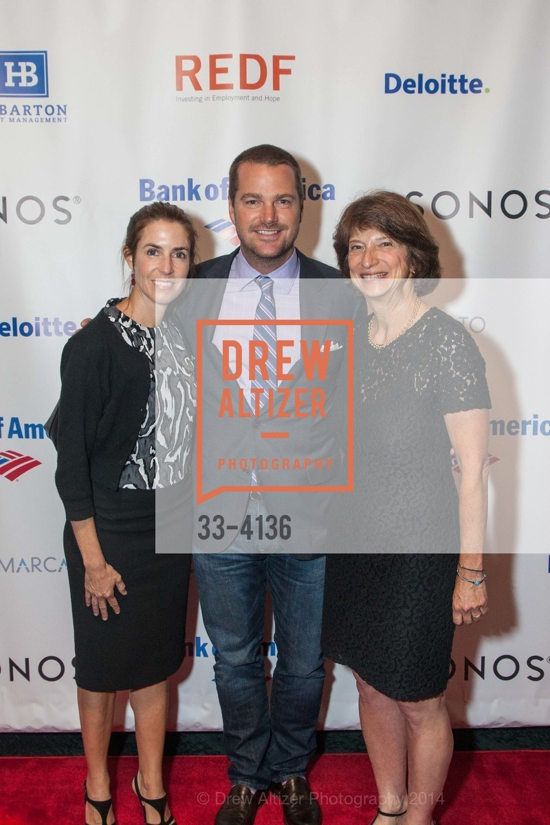 Caroline O'Donnell, Chris O'Donnell, Carla Javits, Photo #33-4136