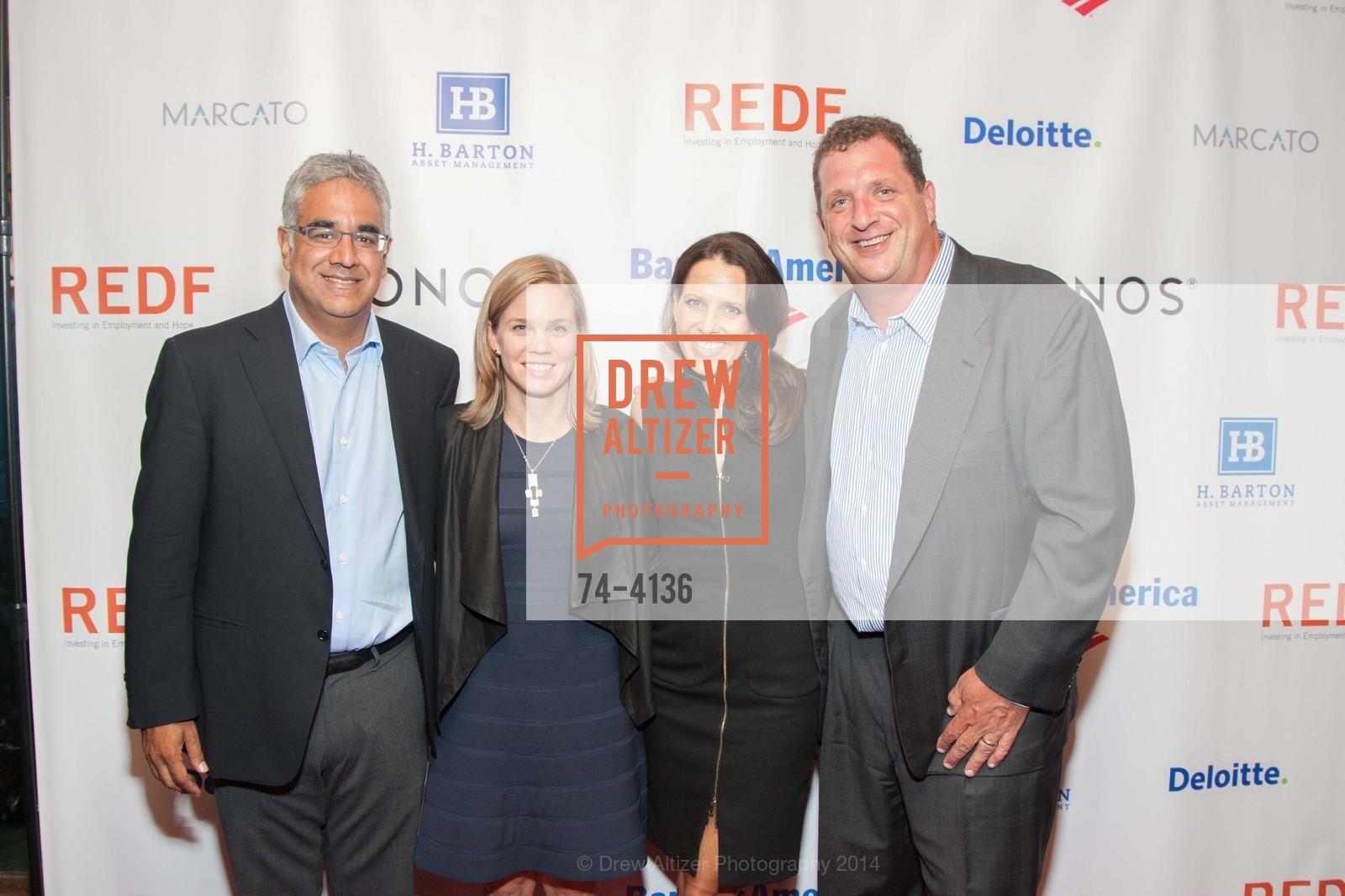 Aneel Bhusri, Allison Bhusri, Megan Barton, Harris Barton, Photo #74-4136