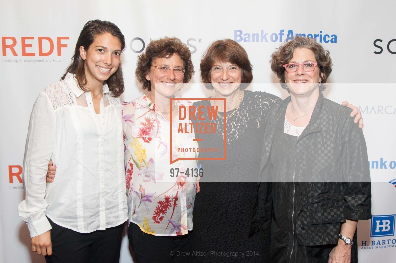 Sonya Javits, Margaret Cechetti, Carla Javits, ? Greiff, Photo #97-4136