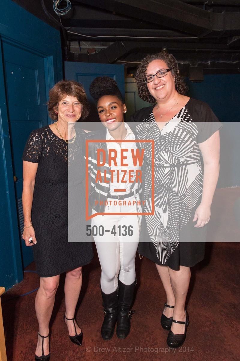 Carla Javits, Janelle Monae, Christina Garcia, Photo #500-4136