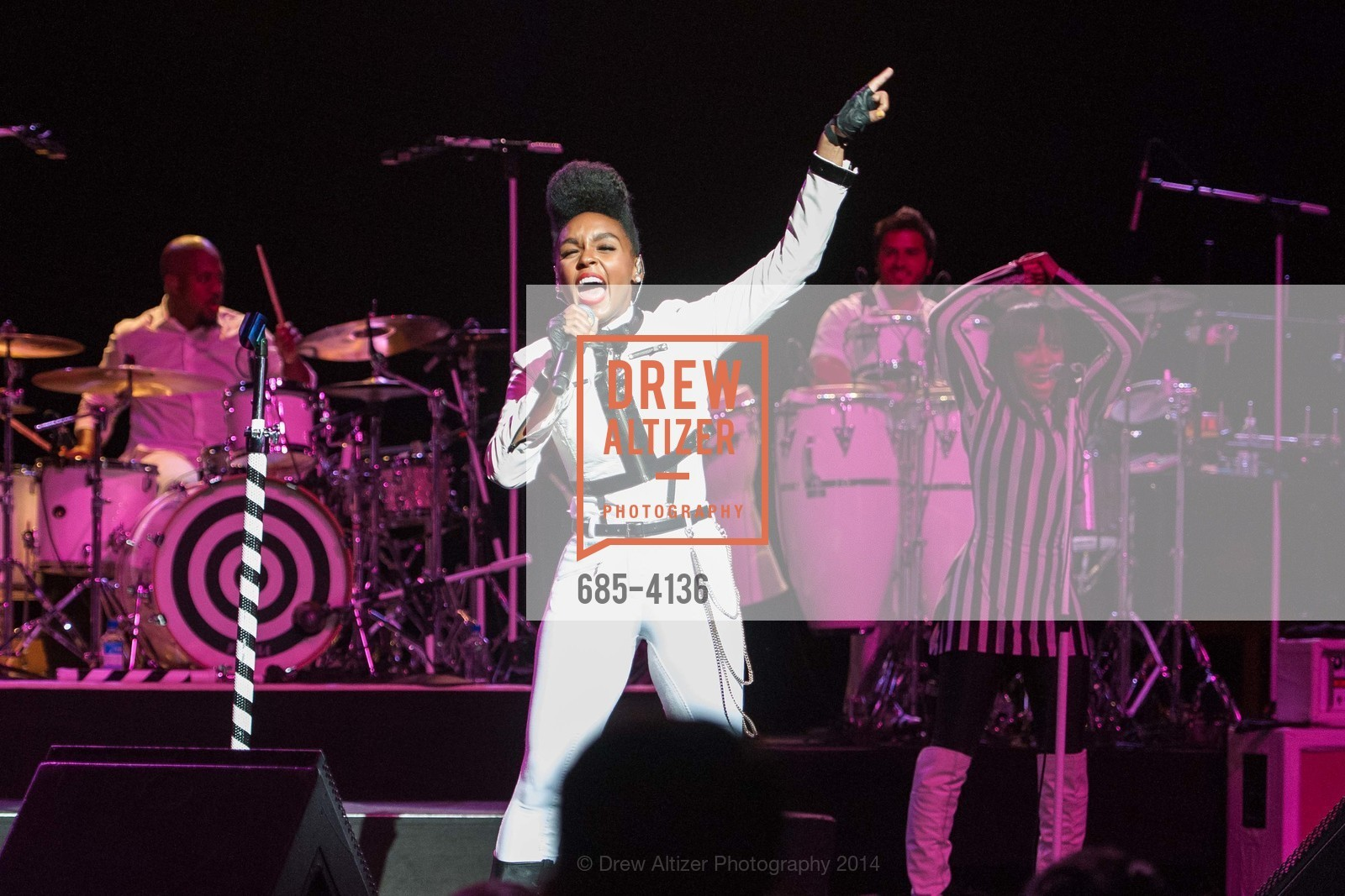 Performance By Janelle Monae, Photo #685-4136