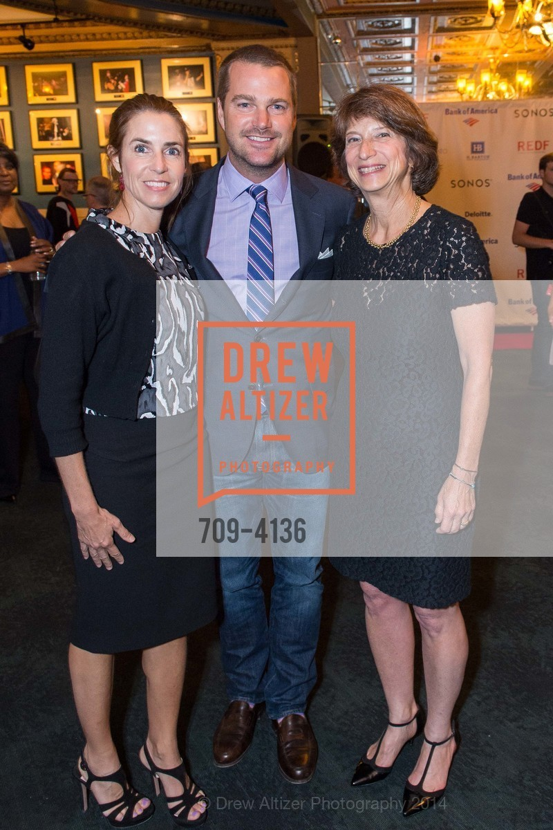 Caroline O'Donnell, Chris O'Donnell, Carla Javits, Photo #709-4136