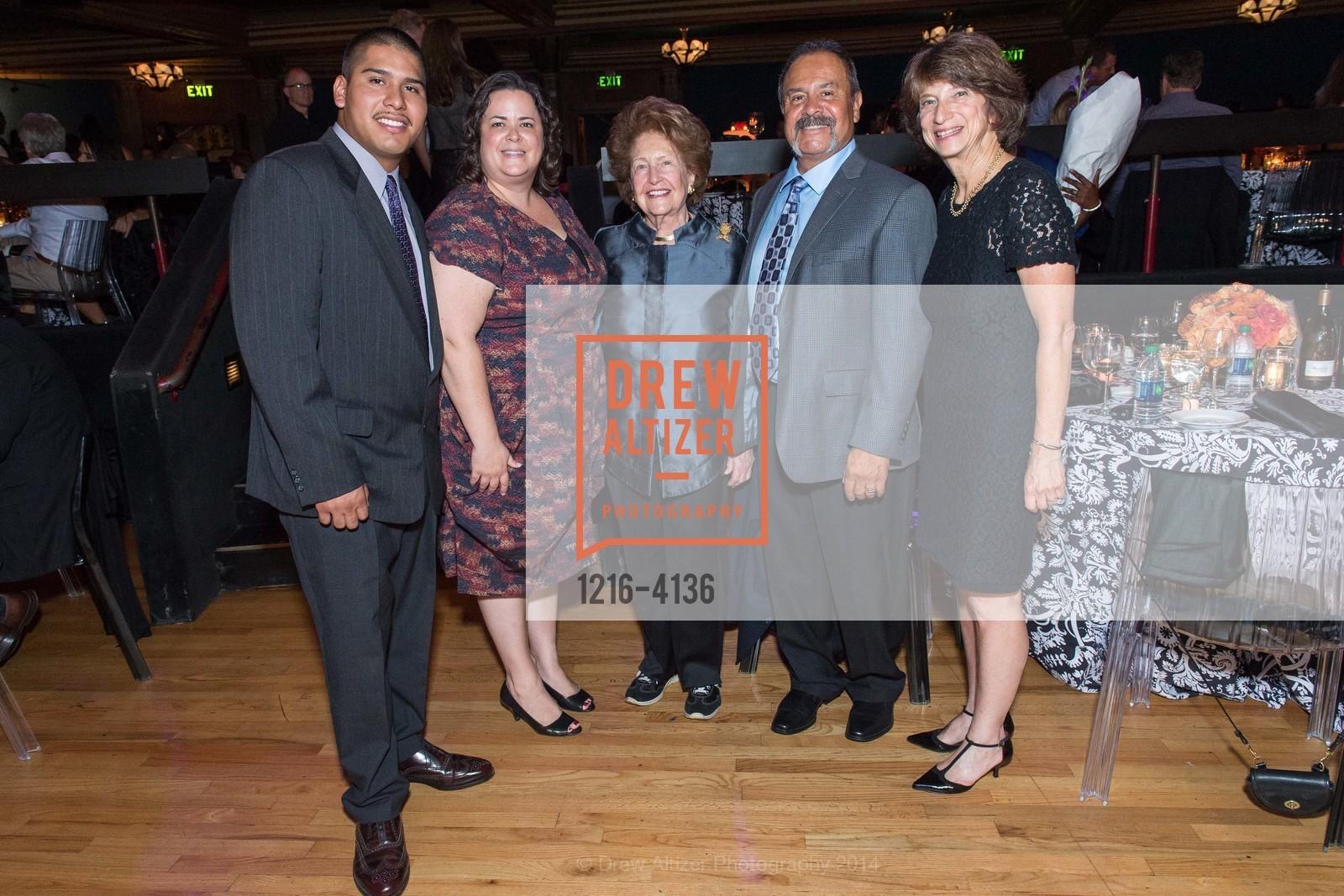 Juan Tello, Shawn Smith, Phyllis Moldaw, John Raya, Carla Javits, Photo #1216-4136