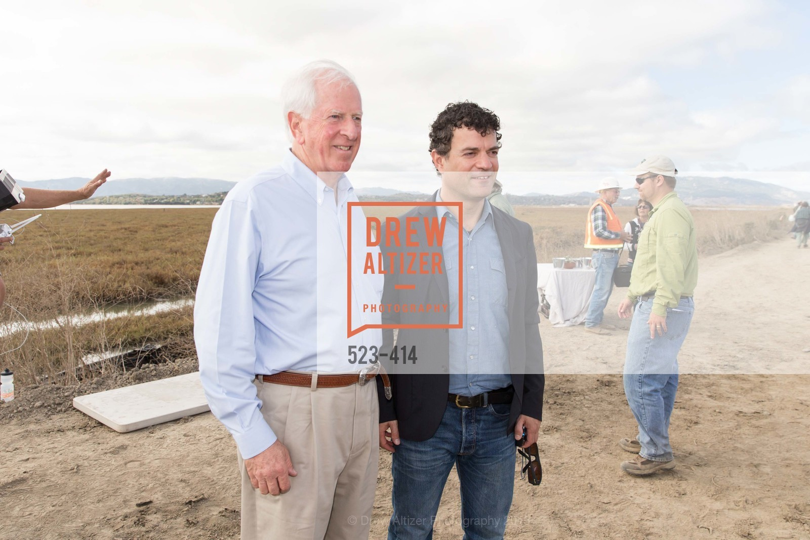 Mike Thompson, Jared Blumenfeld, SEA CHANGE at Sears Point with Sonoma Land Trust, Sears Point. Hwy 37 and Lakeville Hwy, October 25th, 2015,Drew Altizer, Drew Altizer Photography, full-service agency, private events, San Francisco photographer, photographer california