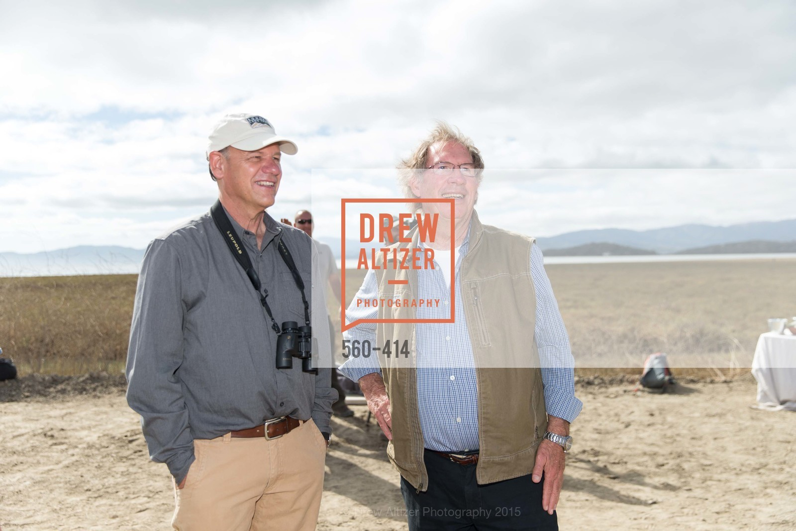 Dave Koehler, Ralph Benson, SEA CHANGE at Sears Point with Sonoma Land Trust, Sears Point. Hwy 37 and Lakeville Hwy, October 25th, 2015,Drew Altizer, Drew Altizer Photography, full-service agency, private events, San Francisco photographer, photographer california