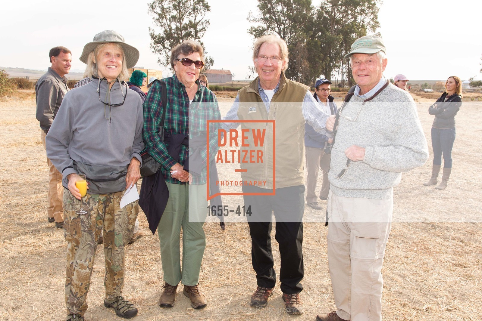 Carol Williams, Jane Weller, Ralph Benson, Nelson Weller, SEA CHANGE at Sears Point with Sonoma Land Trust, Sears Point. Hwy 37 and Lakeville Hwy, October 25th, 2015,Drew Altizer, Drew Altizer Photography, full-service agency, private events, San Francisco photographer, photographer california