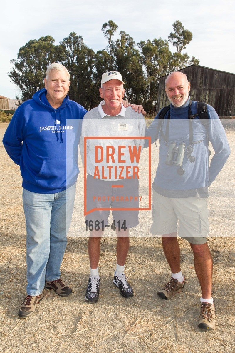 Bill Jasper, Bill Osterland, Larry Jacobs, SEA CHANGE at Sears Point with Sonoma Land Trust, Sears Point. Hwy 37 and Lakeville Hwy, October 25th, 2015,Drew Altizer, Drew Altizer Photography, full-service agency, private events, San Francisco photographer, photographer california