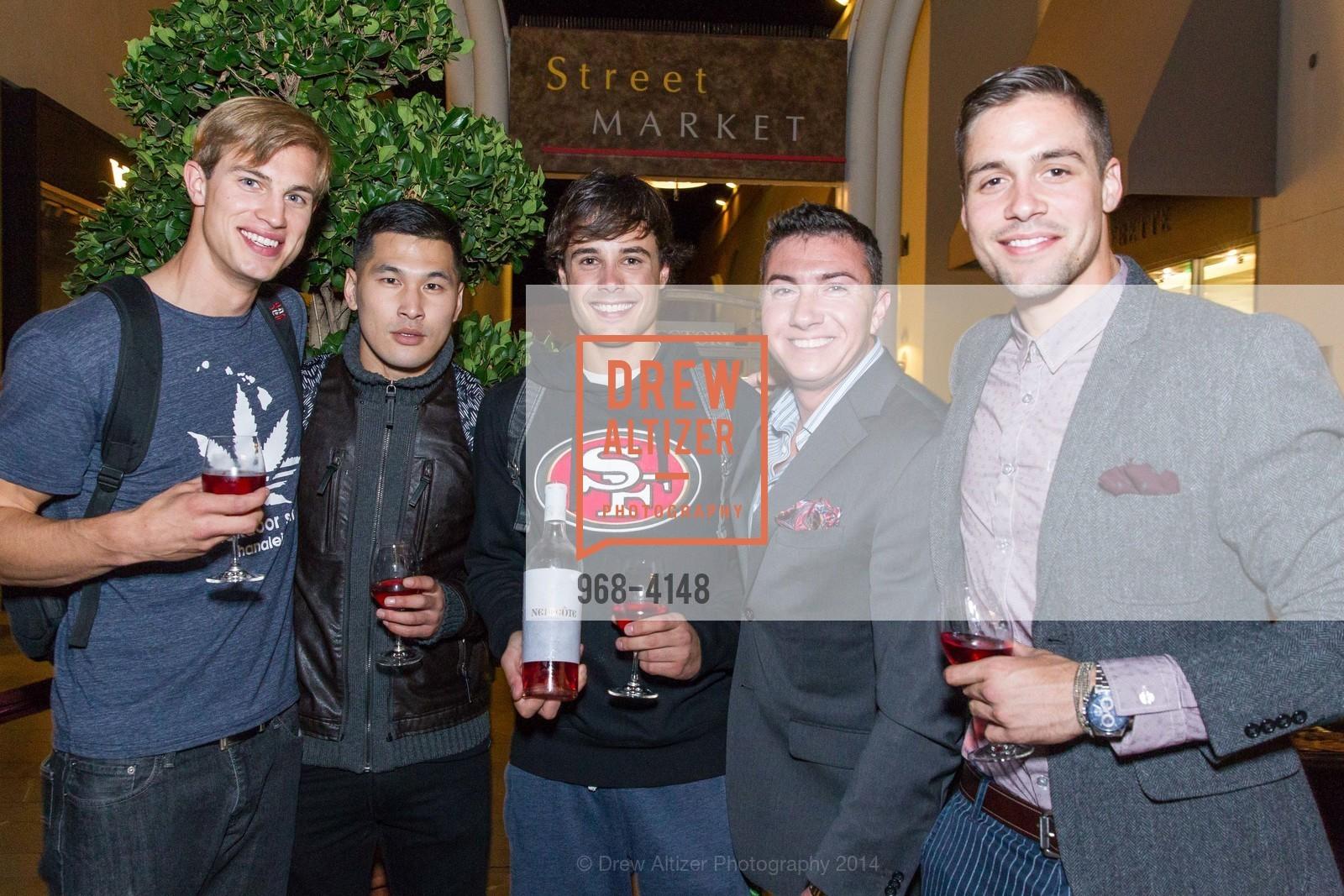 Luke Roberts, John Kwon, Colton Hobizal, Tyler Olbres, Blake Mason, Photo #968-4148