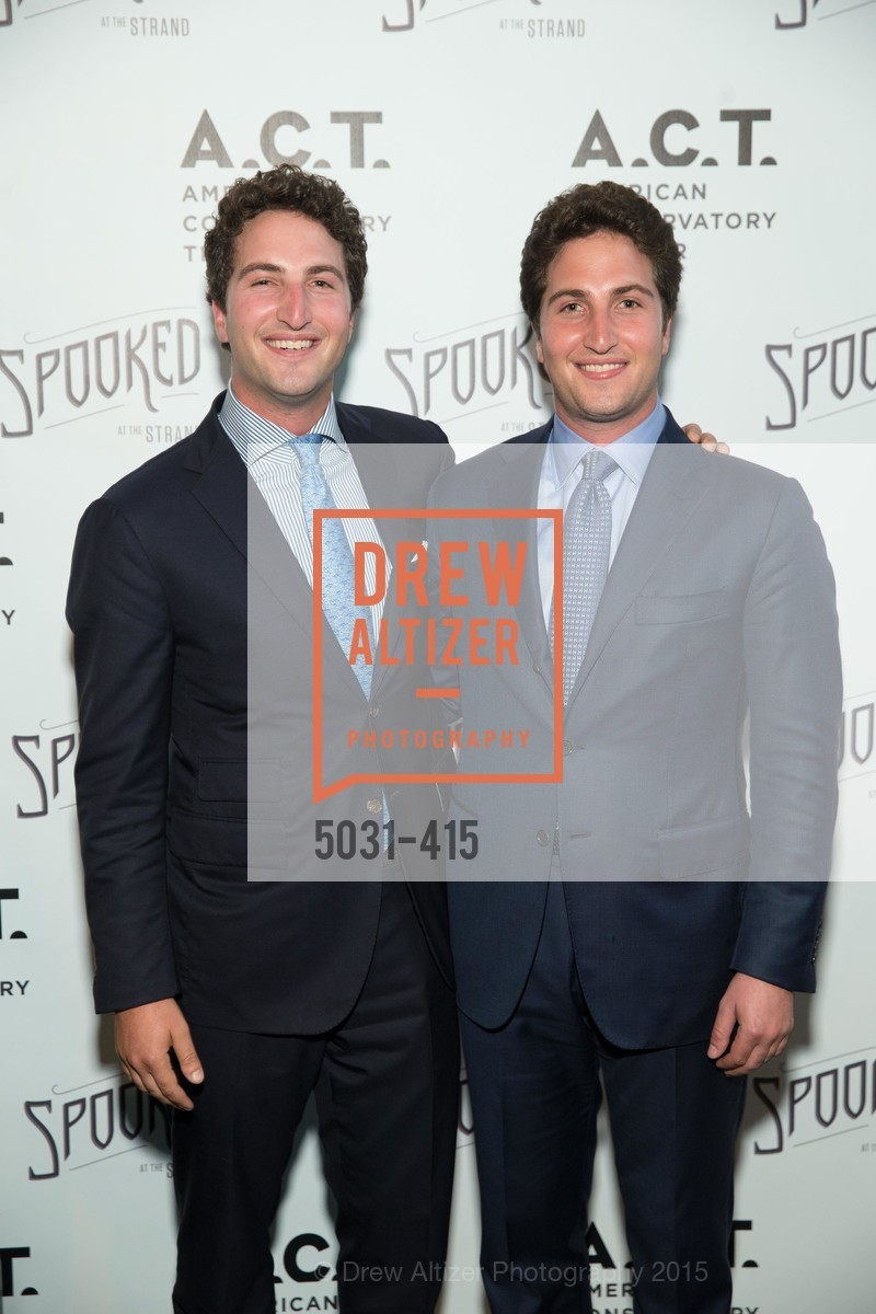 Matthew Goldman, Jason Goldman, SPOOKED AT THE STRAND Presented by the American Conservatory Theater, The Strand Theater. 1127 Market Street, October 26th, 2015,Drew Altizer, Drew Altizer Photography, full-service agency, private events, San Francisco photographer, photographer california
