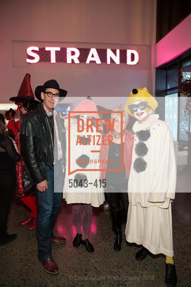 Fred Levin, Patti Rueff, Nancy Livingston, Rusty Rueff, SPOOKED AT THE STRAND Presented by the American Conservatory Theater, The Strand Theater. 1127 Market Street, October 26th, 2015,Drew Altizer, Drew Altizer Photography, full-service agency, private events, San Francisco photographer, photographer california