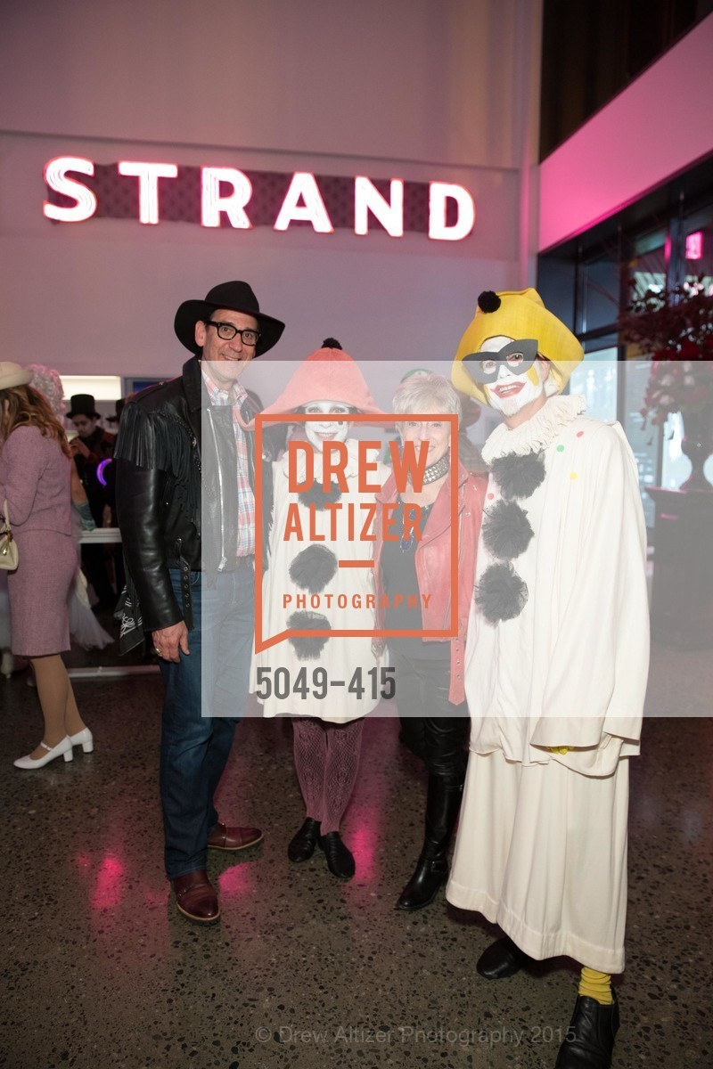 Fred Levin, Patti Rueff, Nancy Livingston, Rusty Rueff, SPOOKED AT THE STRAND Presented by the American Conservatory Theater, The Strand Theater. 1127 Market Street, October 26th, 2015,Drew Altizer, Drew Altizer Photography, full-service event agency, private events, San Francisco photographer, photographer California