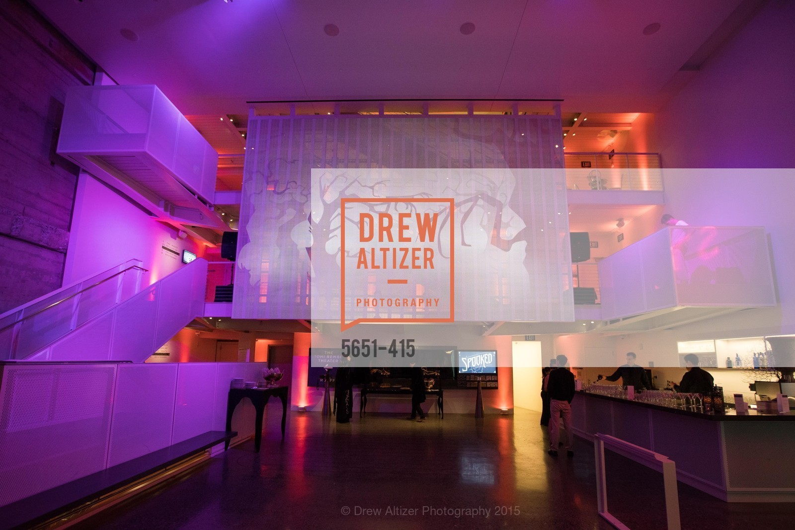 Atmosphere, SPOOKED AT THE STRAND Presented by the American Conservatory Theater, The Strand Theater. 1127 Market Street, October 26th, 2015,Drew Altizer, Drew Altizer Photography, full-service agency, private events, San Francisco photographer, photographer california