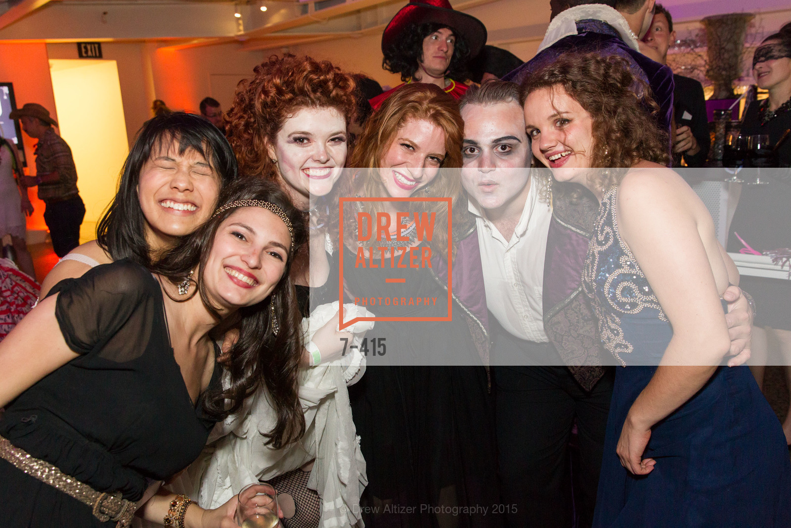 Alexa Erbach, Peter Fanone, Rosa Palmeri, SPOOKED AT THE STRAND Presented by the American Conservatory Theater, The Strand Theater. 1127 Market Street, October 26th, 2015,Drew Altizer, Drew Altizer Photography, full-service agency, private events, San Francisco photographer, photographer california