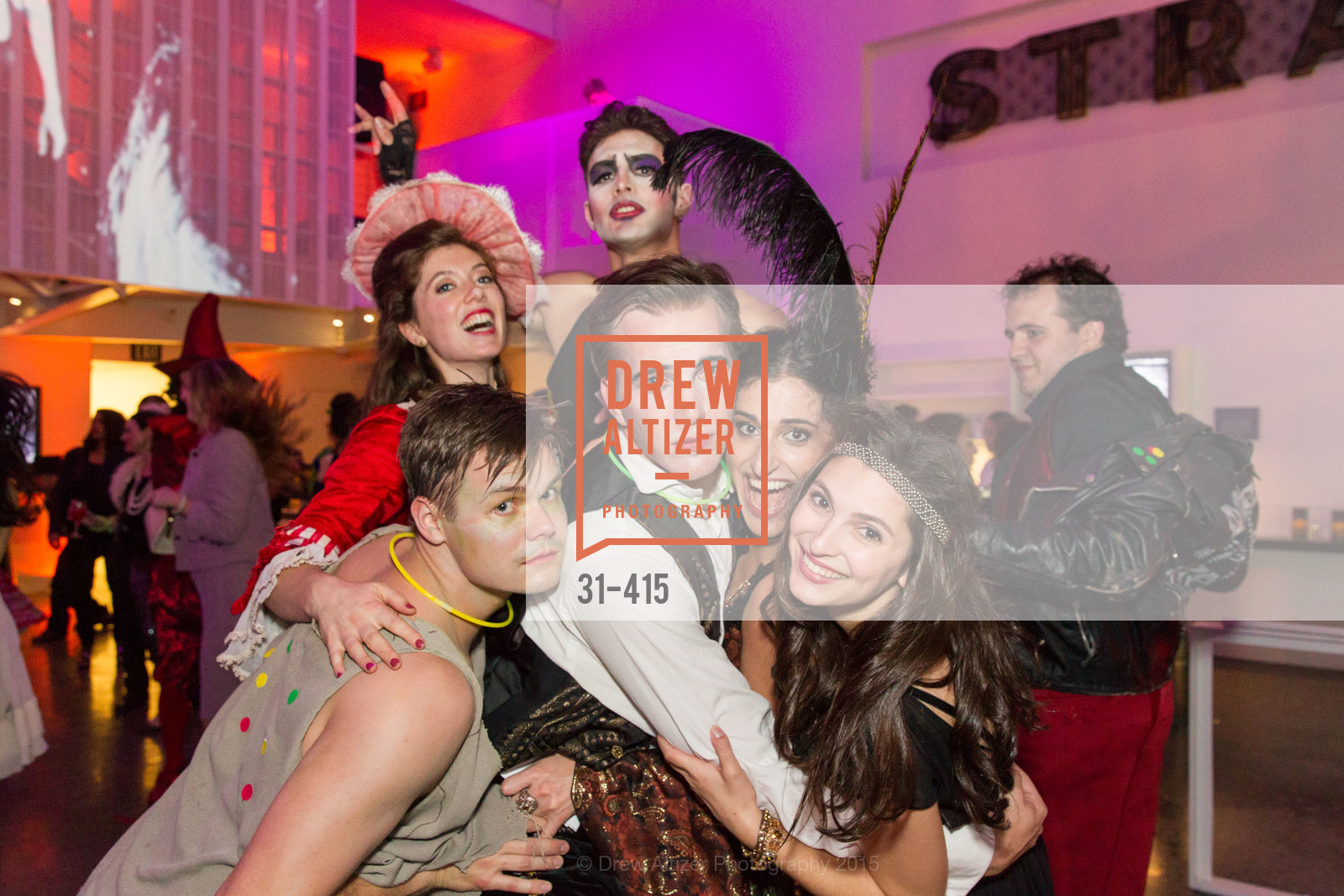 Oliver Shirley, Justin Genna, Jennifer Apple, SPOOKED AT THE STRAND Presented by the American Conservatory Theater, The Strand Theater. 1127 Market Street, October 26th, 2015,Drew Altizer, Drew Altizer Photography, full-service event agency, private events, San Francisco photographer, photographer California