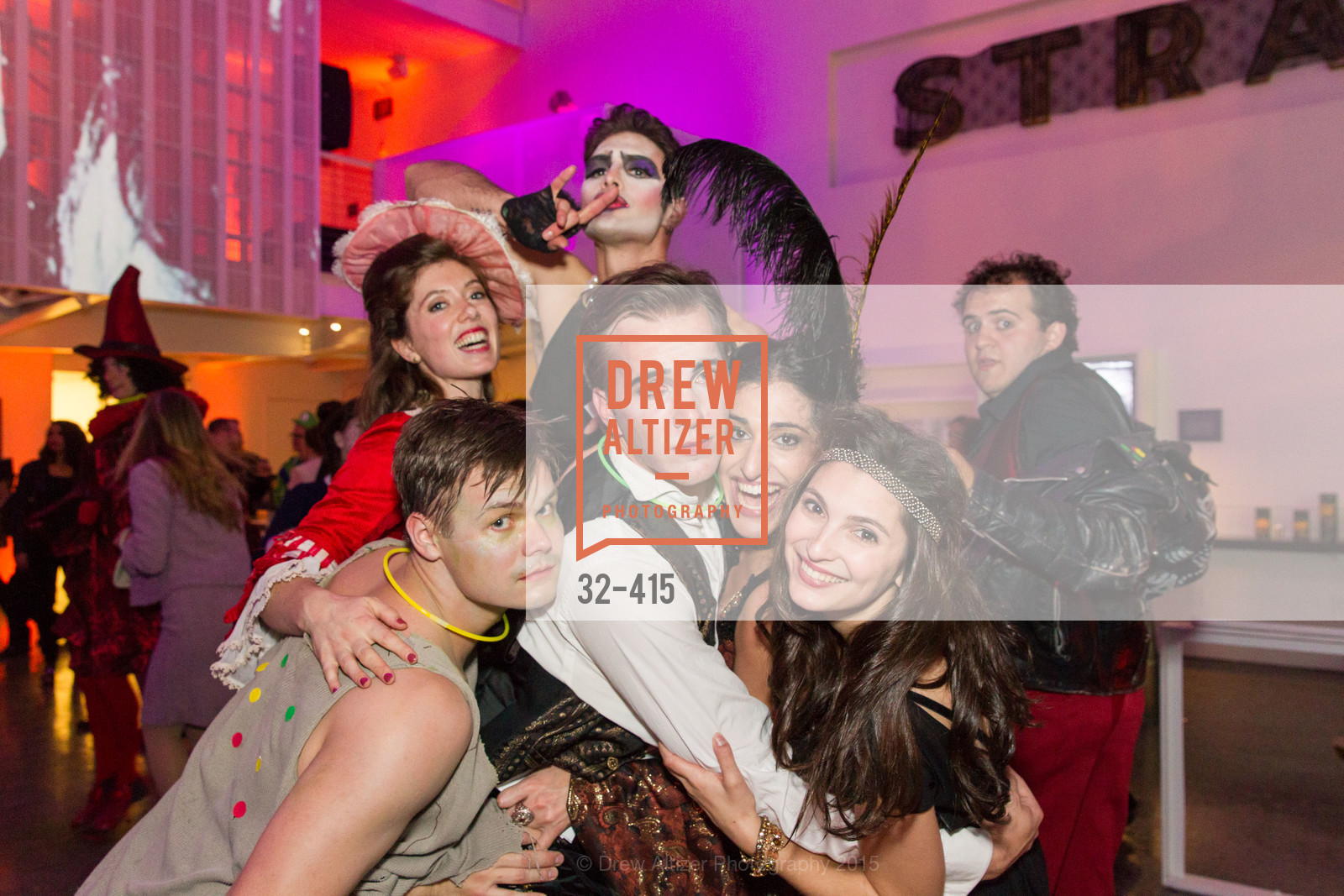 Oliver Shirley, Justin Genna, Jennifer Apple, SPOOKED AT THE STRAND Presented by the American Conservatory Theater, The Strand Theater. 1127 Market Street, October 26th, 2015,Drew Altizer, Drew Altizer Photography, full-service agency, private events, San Francisco photographer, photographer california