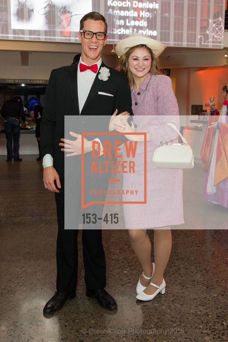 Stephen Wattrus, Julie Adamo, SPOOKED AT THE STRAND Presented by the American Conservatory Theater, The Strand Theater. 1127 Market Street, October 26th, 2015,Drew Altizer, Drew Altizer Photography, full-service agency, private events, San Francisco photographer, photographer california