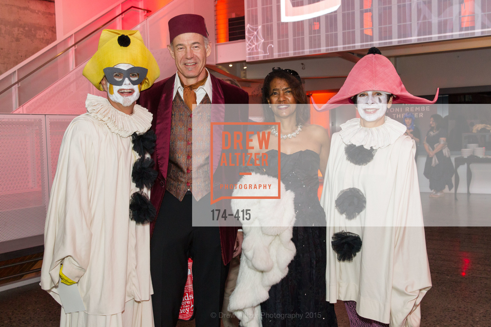 Rusty Rueff, David Riemer, Carla Riemer, Patti Rueff, SPOOKED AT THE STRAND Presented by the American Conservatory Theater, The Strand Theater. 1127 Market Street, October 26th, 2015,Drew Altizer, Drew Altizer Photography, full-service agency, private events, San Francisco photographer, photographer california