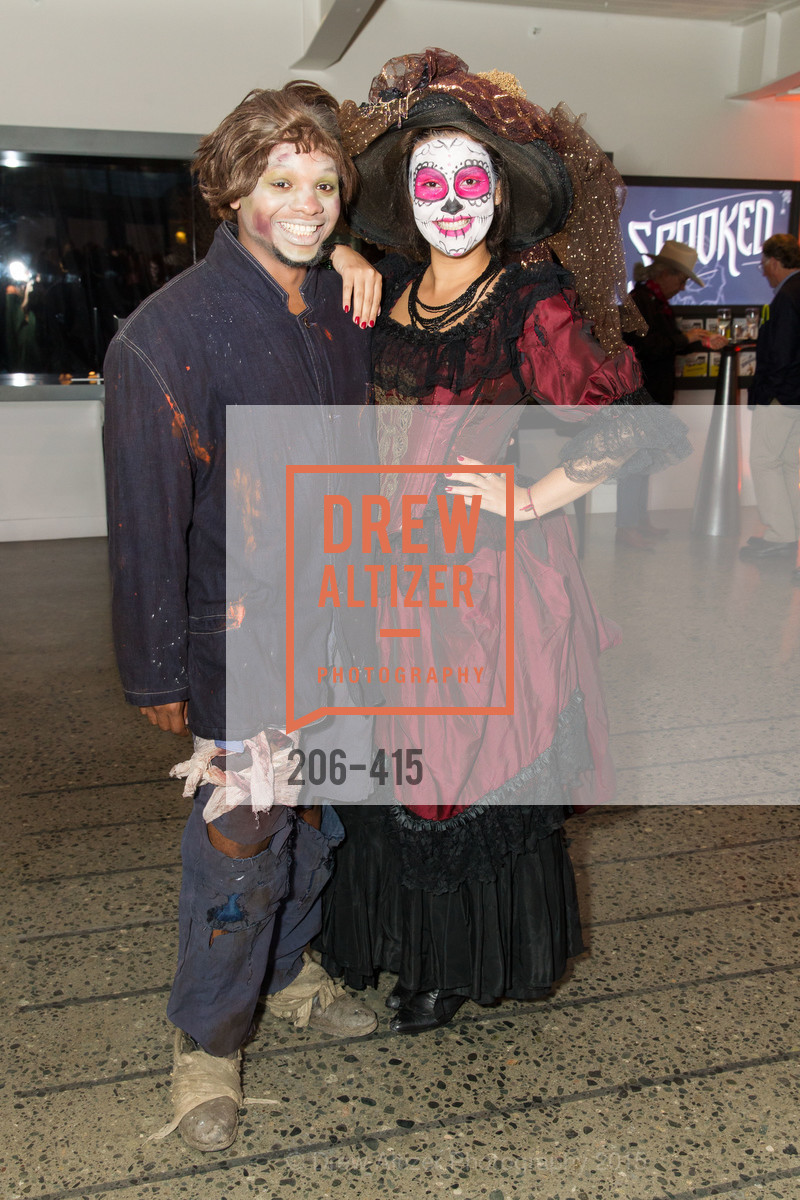 Leonard Thomas, Beatriz Miranda Torres, SPOOKED AT THE STRAND Presented by the American Conservatory Theater, The Strand Theater. 1127 Market Street, October 26th, 2015,Drew Altizer, Drew Altizer Photography, full-service agency, private events, San Francisco photographer, photographer california