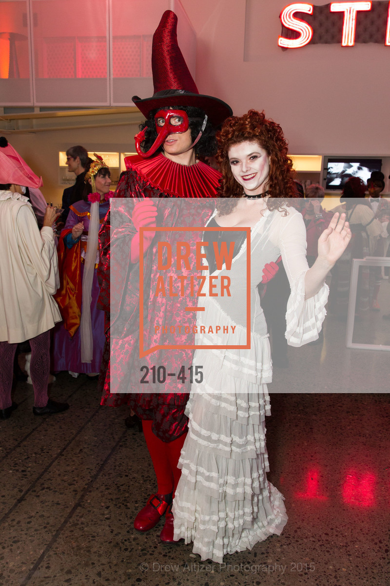 Alan Littlehales, Alexa Erbach, SPOOKED AT THE STRAND Presented by the American Conservatory Theater, The Strand Theater. 1127 Market Street, October 26th, 2015,Drew Altizer, Drew Altizer Photography, full-service agency, private events, San Francisco photographer, photographer california
