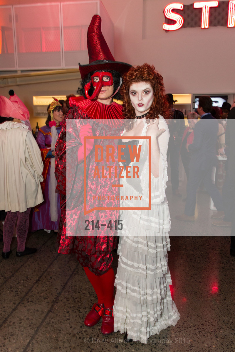 Alan Littlehales, Alexa Erbach, SPOOKED AT THE STRAND Presented by the American Conservatory Theater, The Strand Theater. 1127 Market Street, October 26th, 2015,Drew Altizer, Drew Altizer Photography, full-service event agency, private events, San Francisco photographer, photographer California