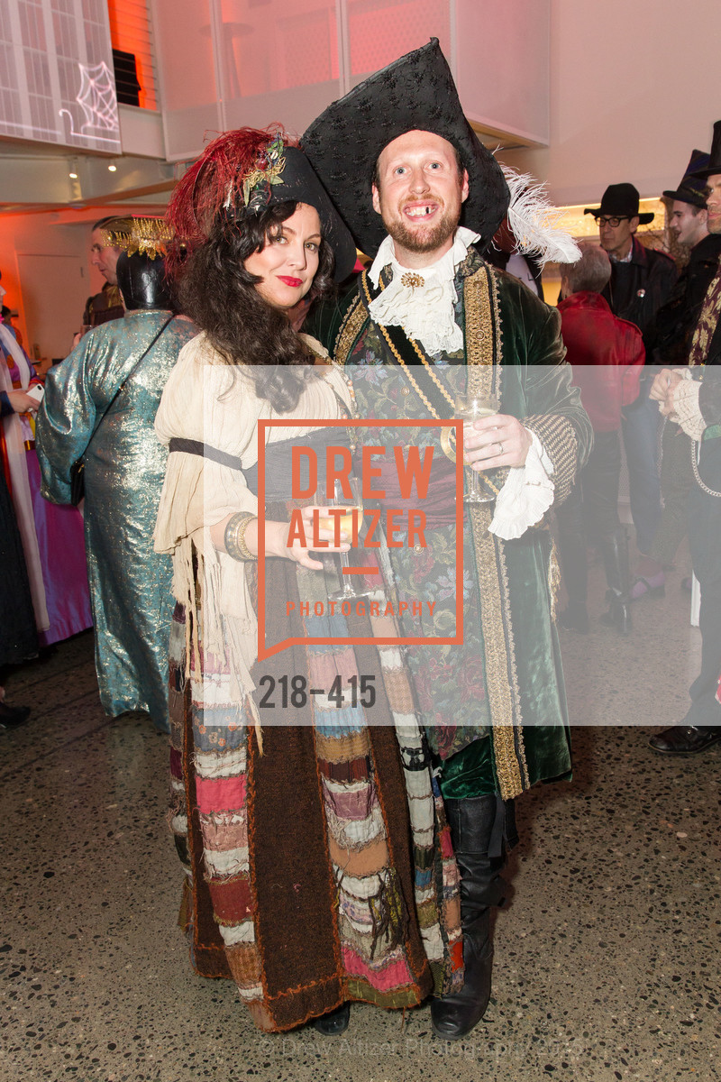 Erica Kolodny, Dan Kolodny, SPOOKED AT THE STRAND Presented by the American Conservatory Theater, The Strand Theater. 1127 Market Street, October 26th, 2015,Drew Altizer, Drew Altizer Photography, full-service agency, private events, San Francisco photographer, photographer california