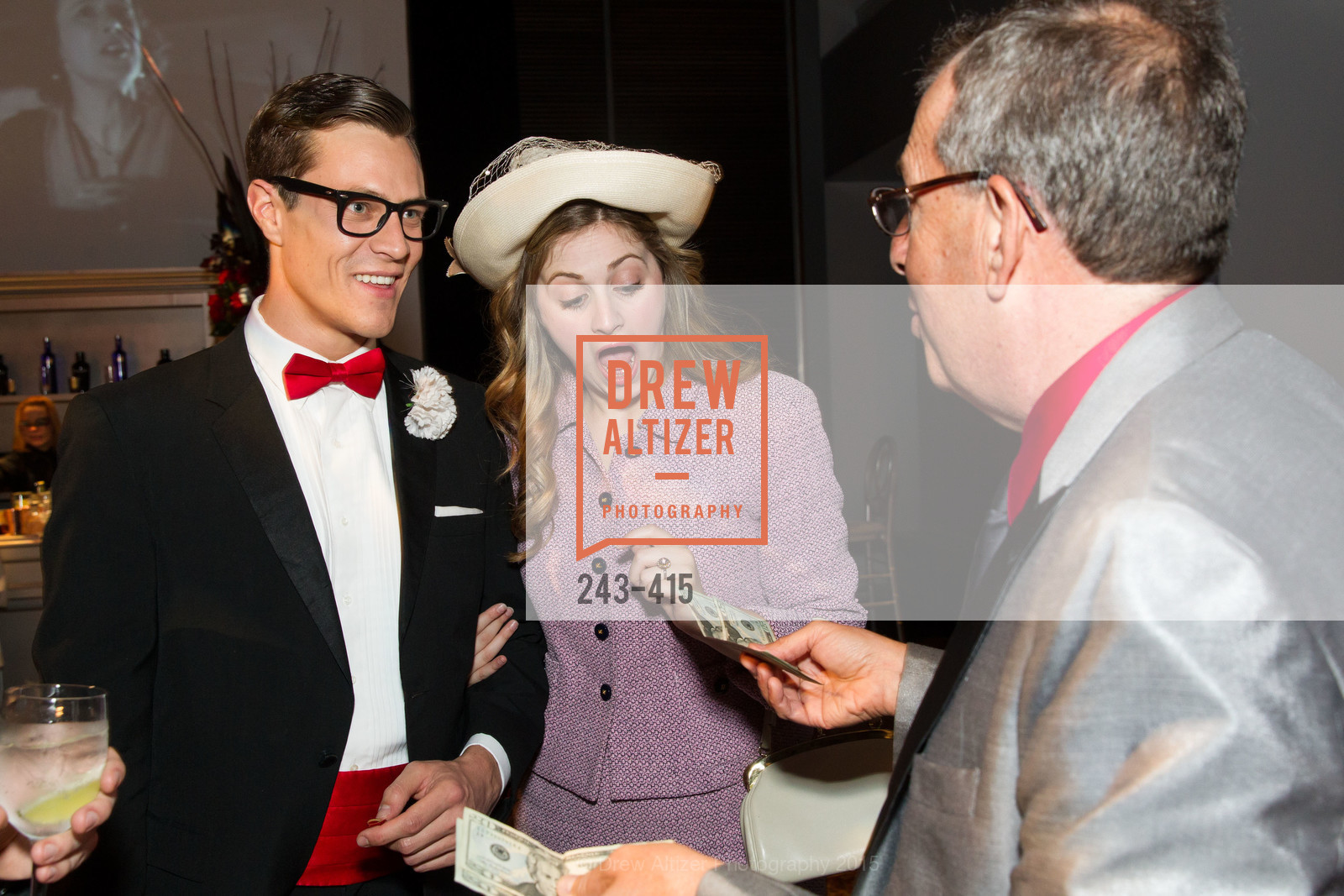 Stephen Wattrus, Julie Adamo, Alan Leeds, SPOOKED AT THE STRAND Presented by the American Conservatory Theater, The Strand Theater. 1127 Market Street, October 26th, 2015,Drew Altizer, Drew Altizer Photography, full-service agency, private events, San Francisco photographer, photographer california