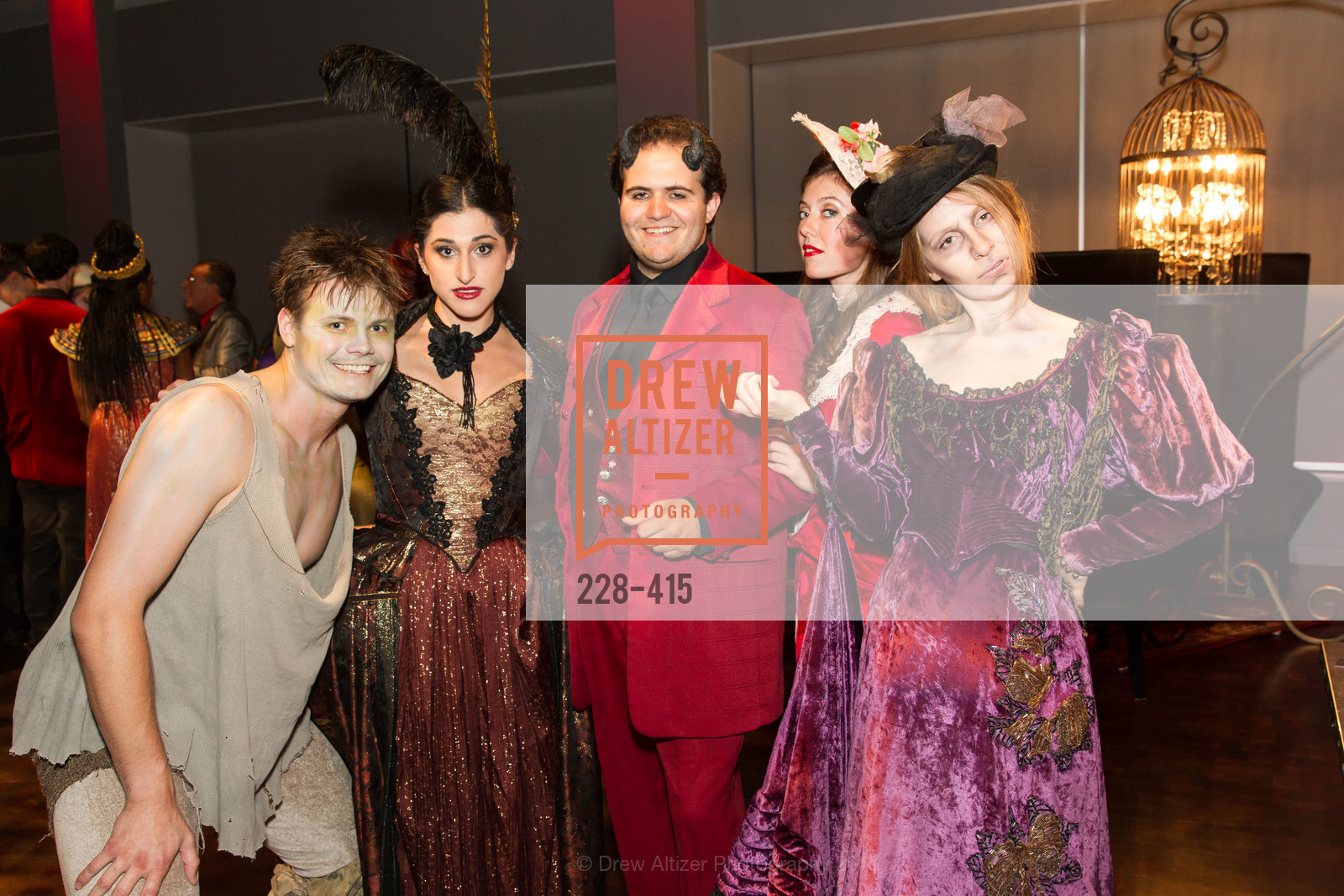 Oliver Shirley, Jennifer Apple, Vincent Randazzo, Lily Narbonne, Rivka Borek, SPOOKED AT THE STRAND Presented by the American Conservatory Theater, The Strand Theater. 1127 Market Street, October 26th, 2015,Drew Altizer, Drew Altizer Photography, full-service agency, private events, San Francisco photographer, photographer california