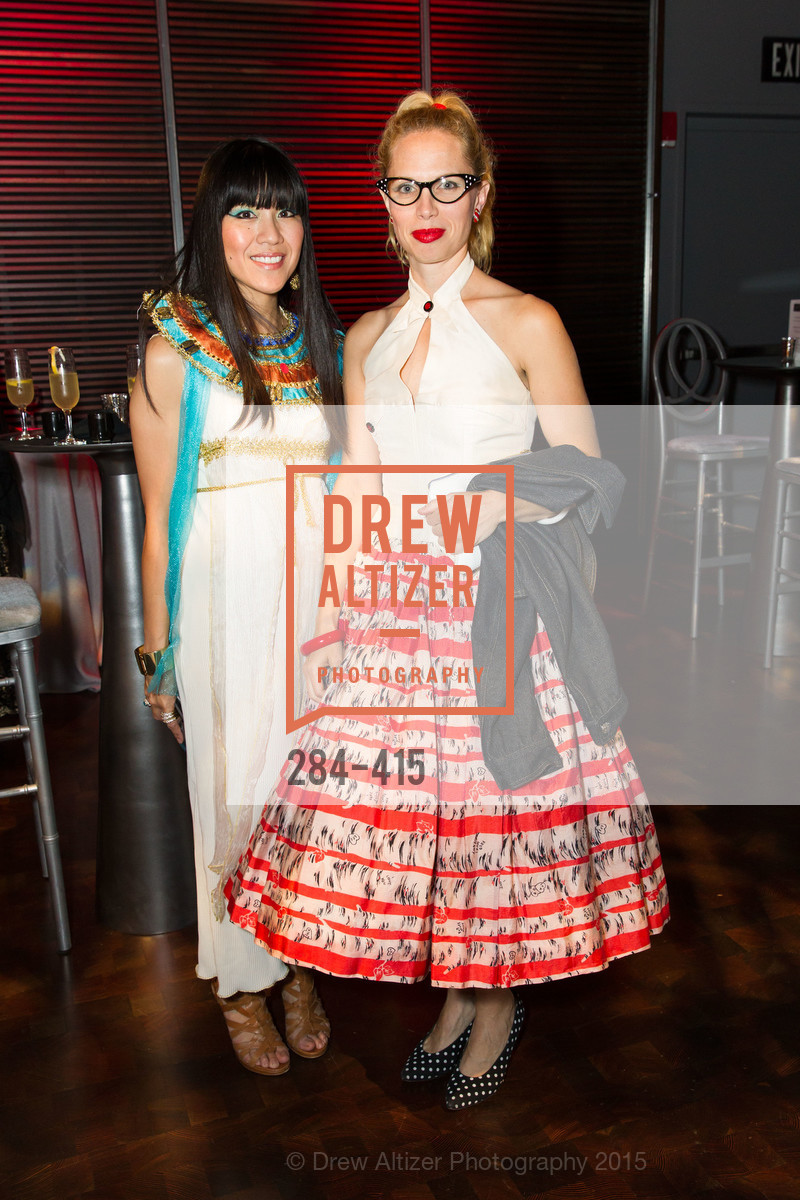 Rachelle Turrell, Eve Petrucci, SPOOKED AT THE STRAND Presented by the American Conservatory Theater, The Strand Theater. 1127 Market Street, October 26th, 2015,Drew Altizer, Drew Altizer Photography, full-service agency, private events, San Francisco photographer, photographer california