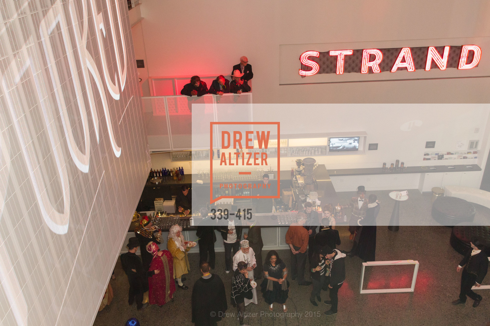 Atmosphere, SPOOKED AT THE STRAND Presented by the American Conservatory Theater, The Strand Theater. 1127 Market Street, October 26th, 2015,Drew Altizer, Drew Altizer Photography, full-service event agency, private events, San Francisco photographer, photographer California