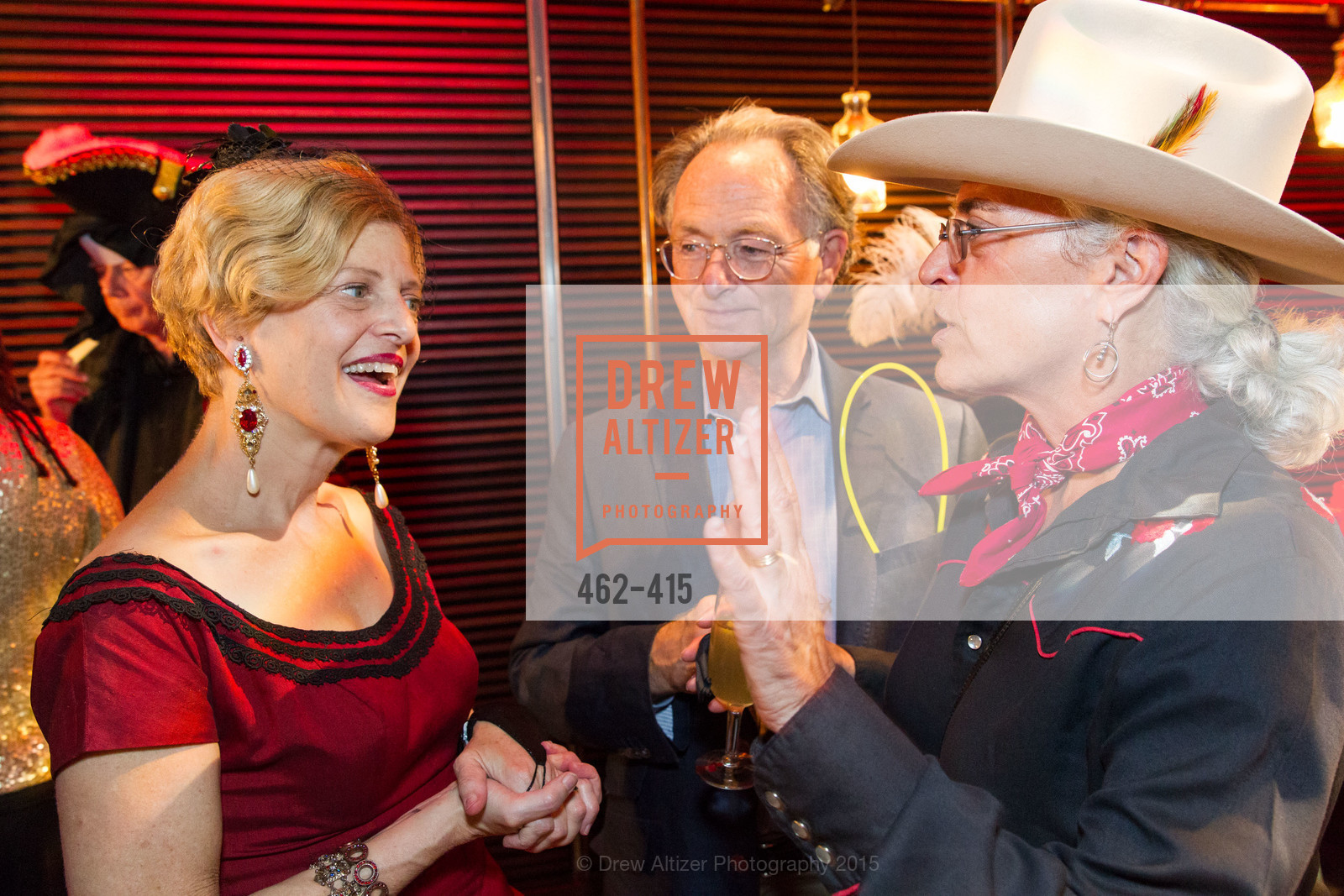 Carey Perloff, Jeanne Myerson, John Cate, SPOOKED AT THE STRAND Presented by the American Conservatory Theater, The Strand Theater. 1127 Market Street, October 26th, 2015