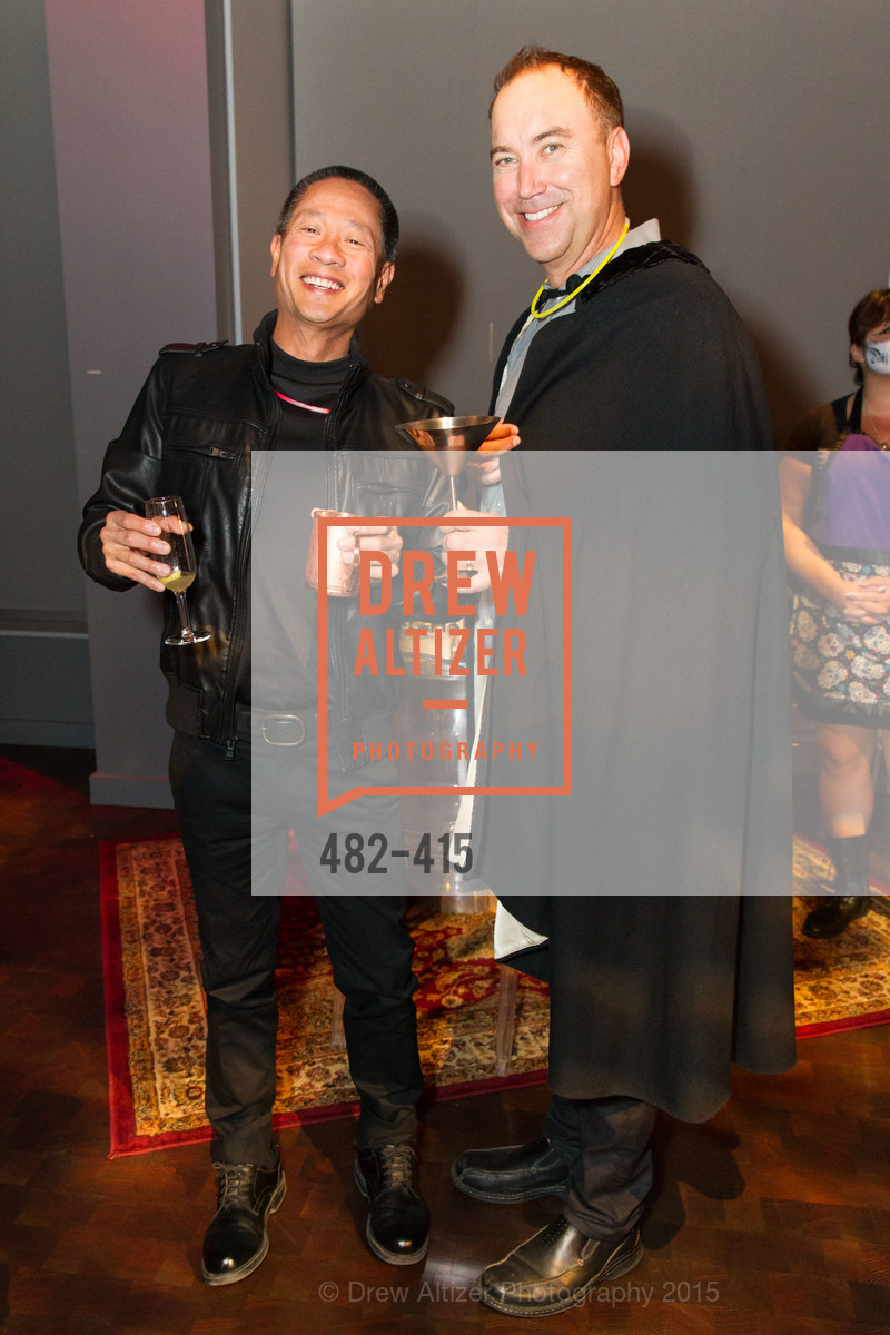 Rob Theis, Rod Werner, SPOOKED AT THE STRAND Presented by the American Conservatory Theater, The Strand Theater. 1127 Market Street, October 26th, 2015,Drew Altizer, Drew Altizer Photography, full-service agency, private events, San Francisco photographer, photographer california