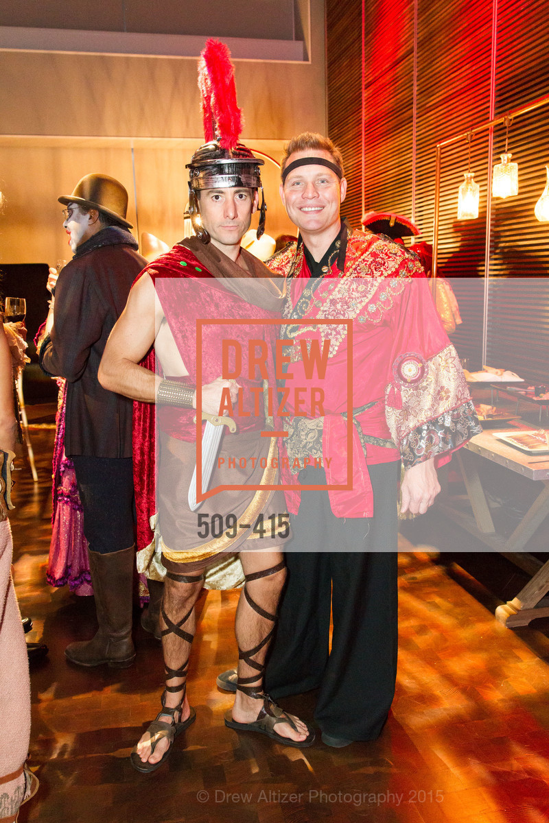 Brian Ayer, Jason Seifer, SPOOKED AT THE STRAND Presented by the American Conservatory Theater, The Strand Theater. 1127 Market Street, October 26th, 2015,Drew Altizer, Drew Altizer Photography, full-service event agency, private events, San Francisco photographer, photographer California