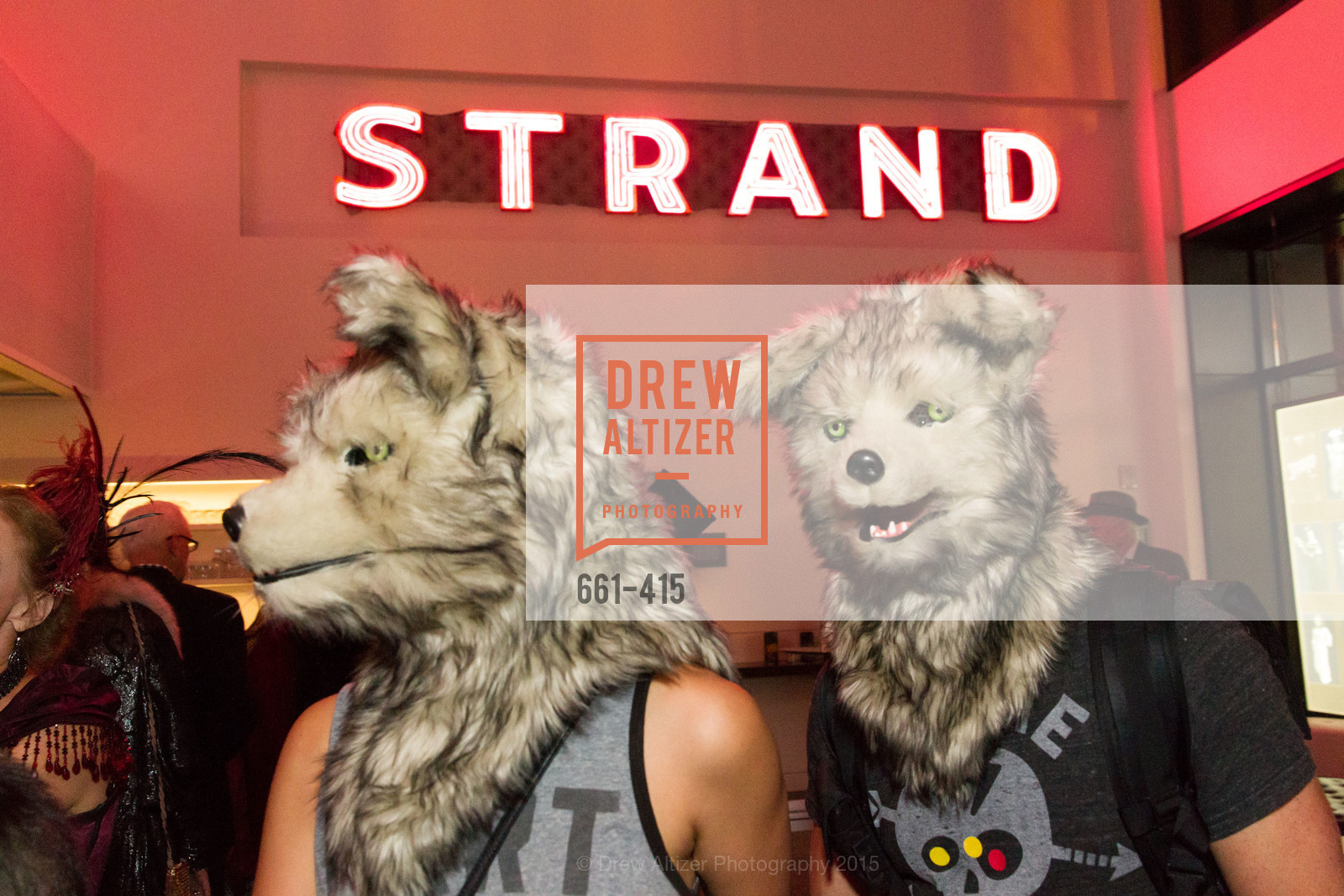 Alicia Stone, Larry Stone, SPOOKED AT THE STRAND Presented by the American Conservatory Theater, The Strand Theater. 1127 Market Street, October 26th, 2015,Drew Altizer, Drew Altizer Photography, full-service agency, private events, San Francisco photographer, photographer california