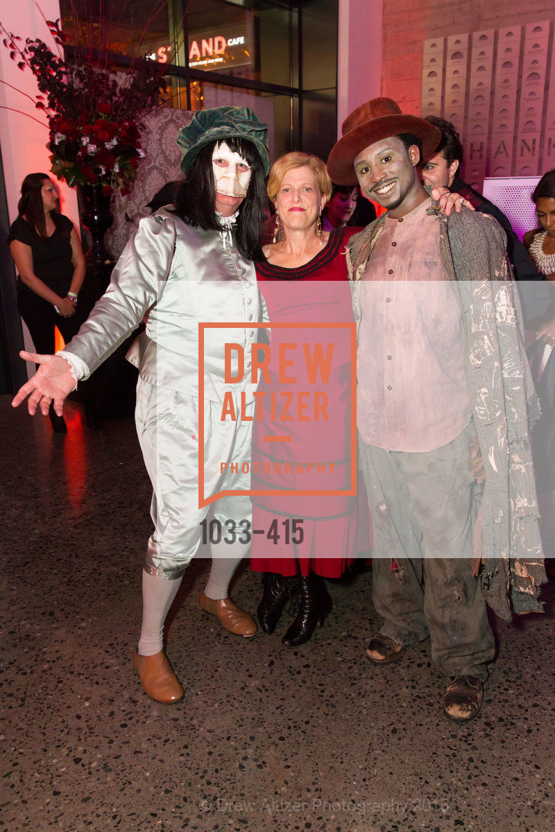 John McGhee, Carey Perloff, Kadeem Harris, SPOOKED AT THE STRAND Presented by the American Conservatory Theater, The Strand Theater. 1127 Market Street, October 26th, 2015,Drew Altizer, Drew Altizer Photography, full-service agency, private events, San Francisco photographer, photographer california