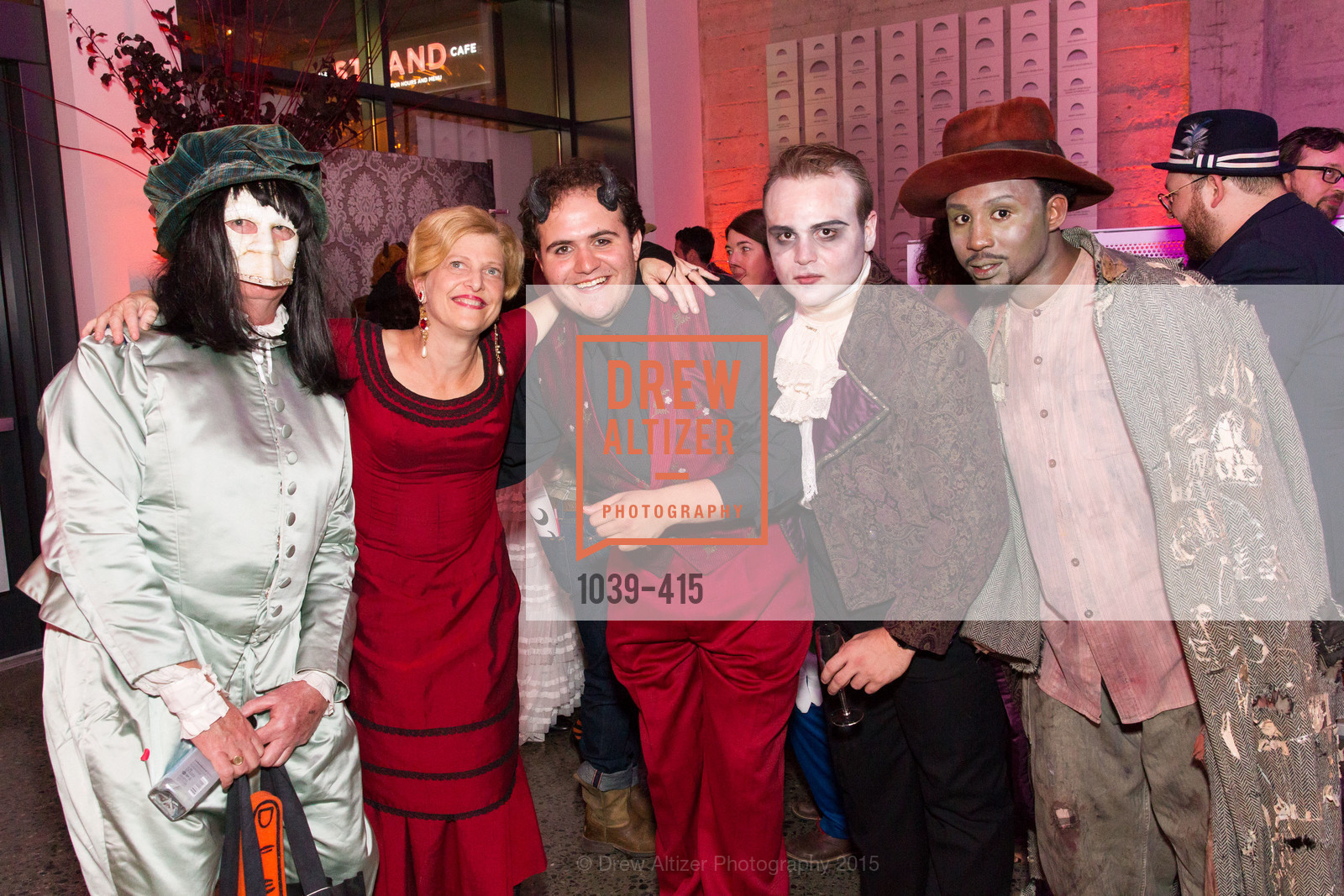 John McGhee, Carey Perloff, Vincent Randazzo, Peter Fanone, Kadeem Harris, SPOOKED AT THE STRAND Presented by the American Conservatory Theater, The Strand Theater. 1127 Market Street, October 26th, 2015,Drew Altizer, Drew Altizer Photography, full-service agency, private events, San Francisco photographer, photographer california