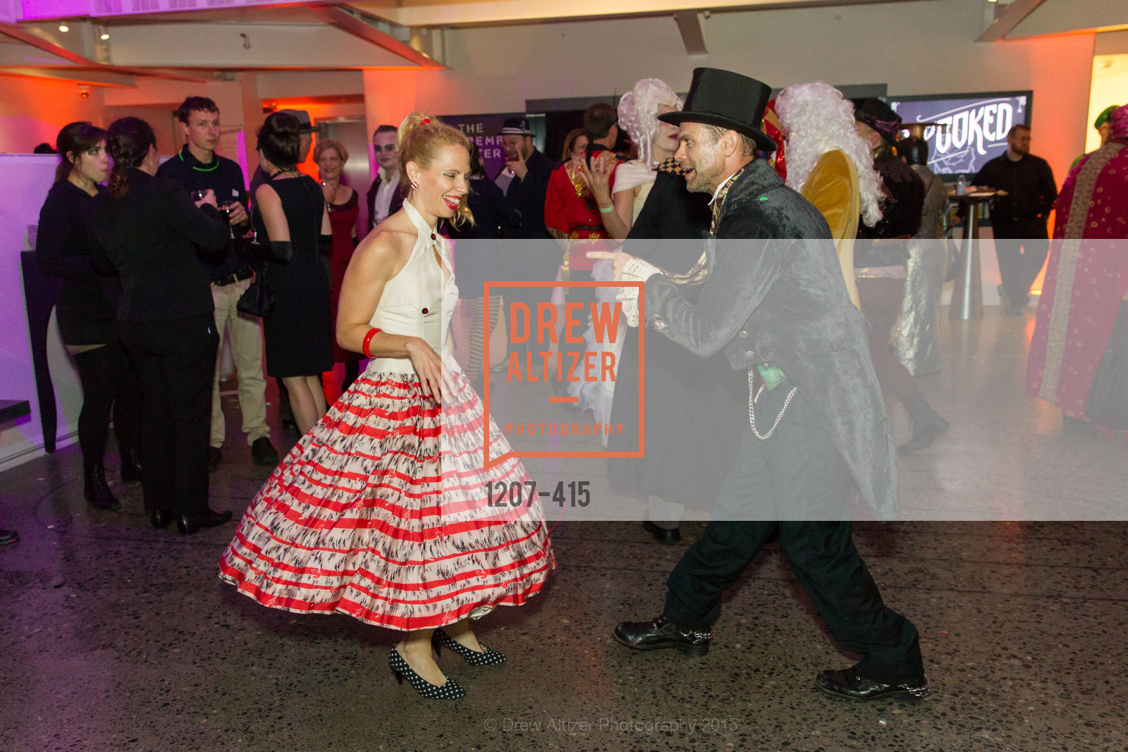 Eve Petrucci, SPOOKED AT THE STRAND Presented by the American Conservatory Theater, The Strand Theater. 1127 Market Street, October 26th, 2015,Drew Altizer, Drew Altizer Photography, full-service agency, private events, San Francisco photographer, photographer california