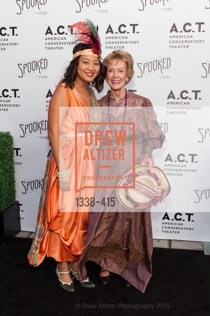 Sandy Shin, Shelley Glassberg, SPOOKED AT THE STRAND Presented by the American Conservatory Theater, The Strand Theater. 1127 Market Street, October 26th, 2015,Drew Altizer, Drew Altizer Photography, full-service agency, private events, San Francisco photographer, photographer california