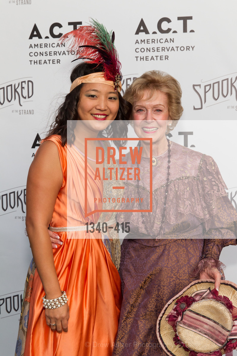 Sandy Shin, Shelley Glasburg, SPOOKED AT THE STRAND Presented by the American Conservatory Theater, The Strand Theater. 1127 Market Street, October 26th, 2015,Drew Altizer, Drew Altizer Photography, full-service agency, private events, San Francisco photographer, photographer california