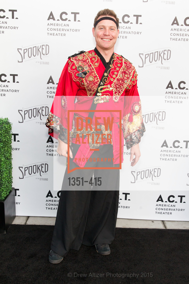 Jason Seifer, SPOOKED AT THE STRAND Presented by the American Conservatory Theater, The Strand Theater. 1127 Market Street, October 26th, 2015,Drew Altizer, Drew Altizer Photography, full-service agency, private events, San Francisco photographer, photographer california
