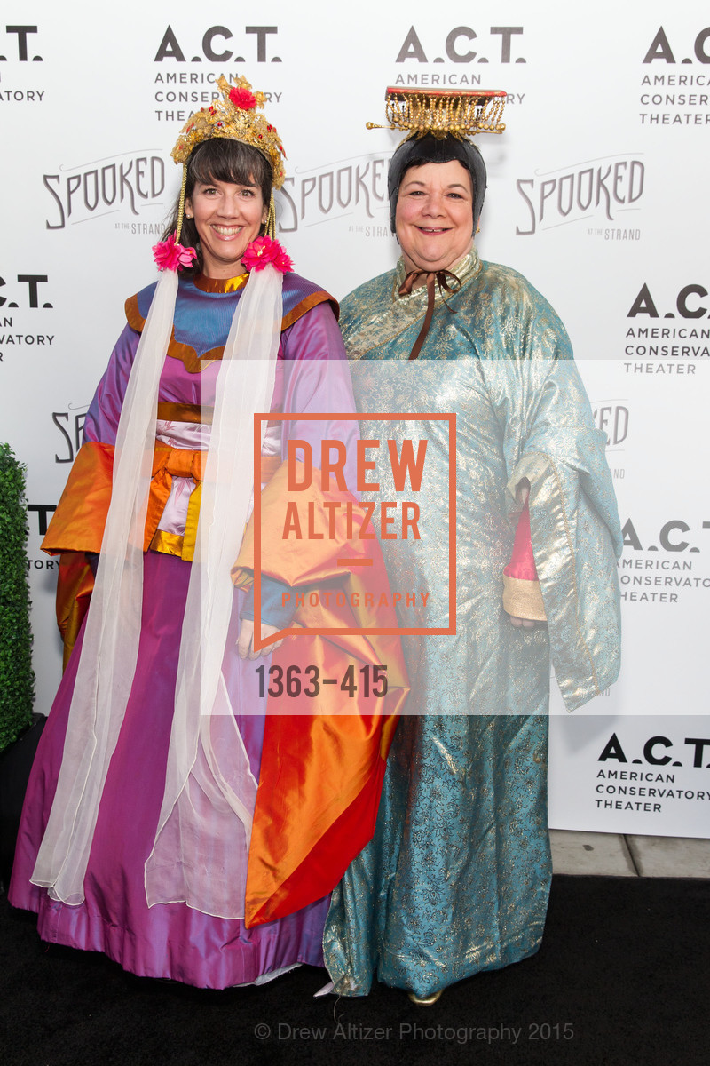 Michelle Shonk, Anne Shonk, SPOOKED AT THE STRAND Presented by the American Conservatory Theater, The Strand Theater. 1127 Market Street, October 26th, 2015,Drew Altizer, Drew Altizer Photography, full-service event agency, private events, San Francisco photographer, photographer California