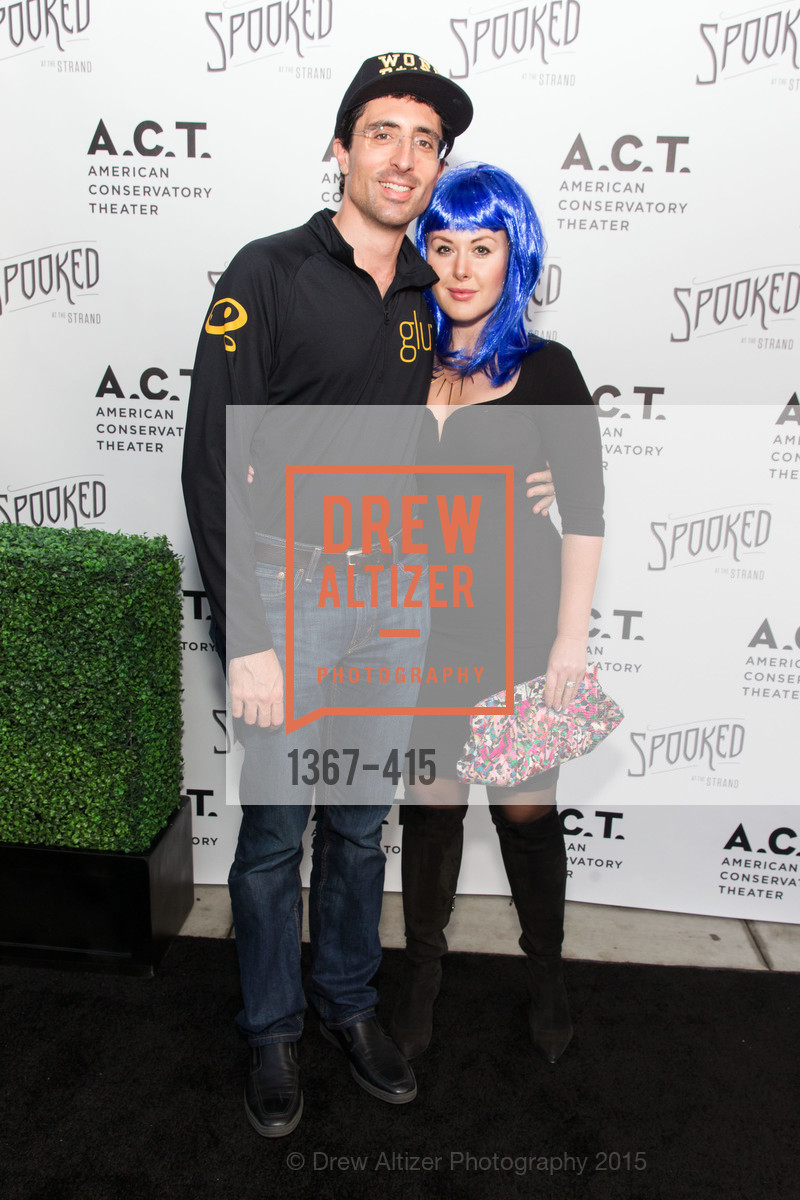 Niccolo Demasi, Natasha Demasi, SPOOKED AT THE STRAND Presented by the American Conservatory Theater, The Strand Theater. 1127 Market Street, October 26th, 2015,Drew Altizer, Drew Altizer Photography, full-service agency, private events, San Francisco photographer, photographer california