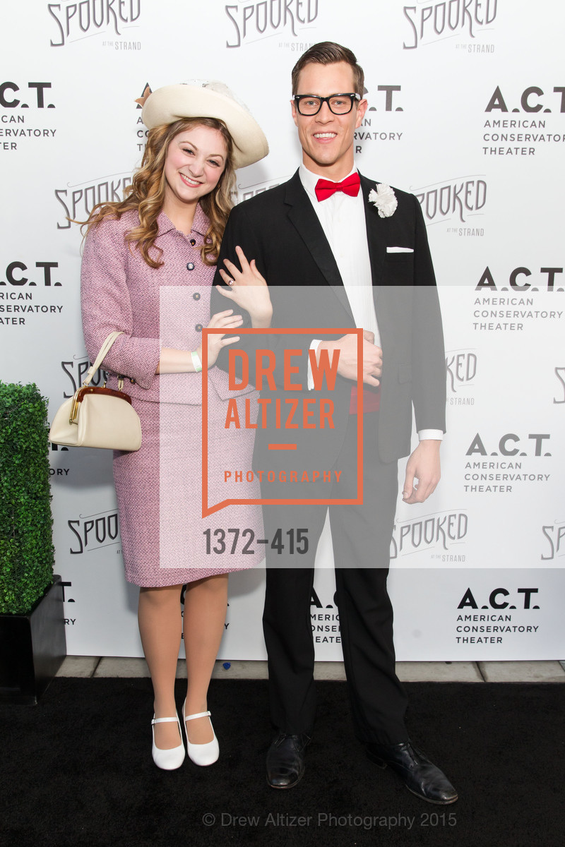 Julie Adamo, Stephen Wattrus, SPOOKED AT THE STRAND Presented by the American Conservatory Theater, The Strand Theater. 1127 Market Street, October 26th, 2015,Drew Altizer, Drew Altizer Photography, full-service agency, private events, San Francisco photographer, photographer california