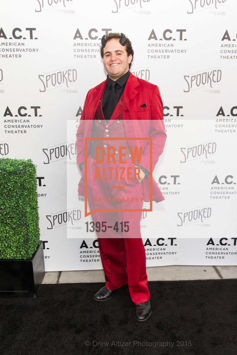 Vincent Randazzo, SPOOKED AT THE STRAND Presented by the American Conservatory Theater, The Strand Theater. 1127 Market Street, October 26th, 2015,Drew Altizer, Drew Altizer Photography, full-service agency, private events, San Francisco photographer, photographer california