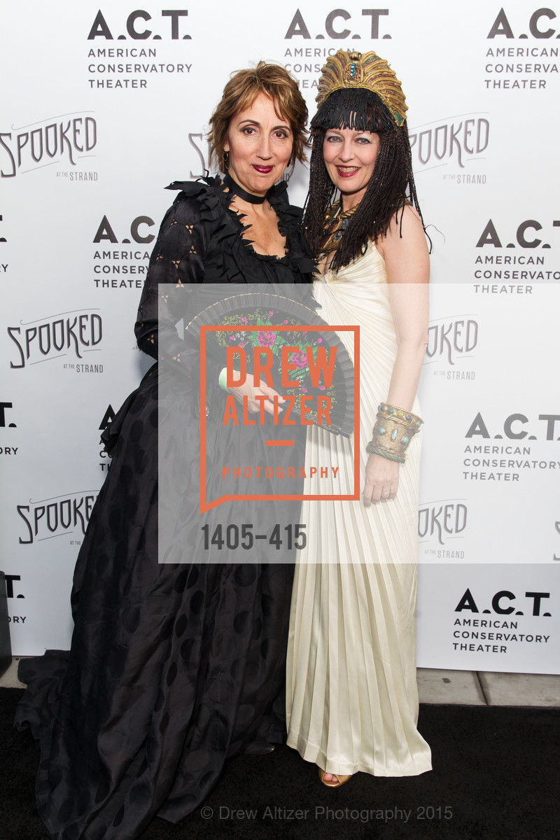 Dominique Lozano, Melissa Smith, SPOOKED AT THE STRAND Presented by the American Conservatory Theater, The Strand Theater. 1127 Market Street, October 26th, 2015,Drew Altizer, Drew Altizer Photography, full-service agency, private events, San Francisco photographer, photographer california