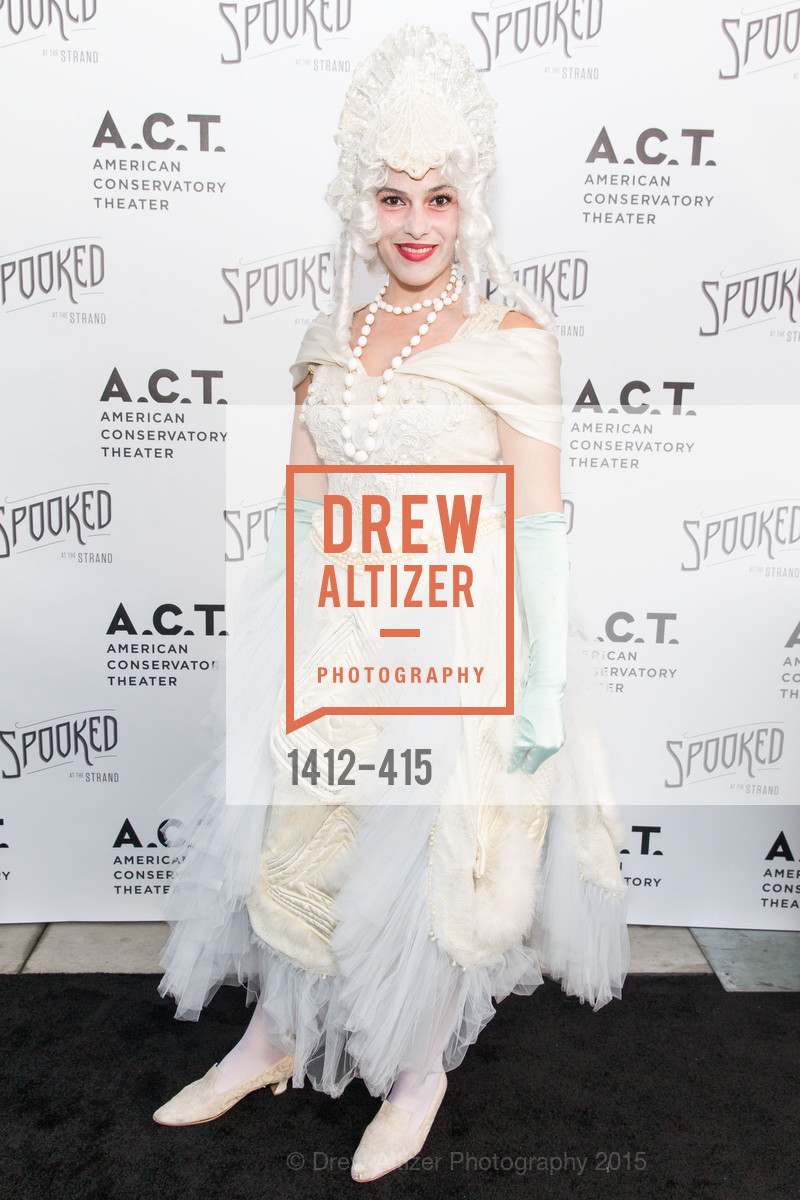 Diana Gonzalez Murrett, SPOOKED AT THE STRAND Presented by the American Conservatory Theater, The Strand Theater. 1127 Market Street, October 26th, 2015,Drew Altizer, Drew Altizer Photography, full-service agency, private events, San Francisco photographer, photographer california