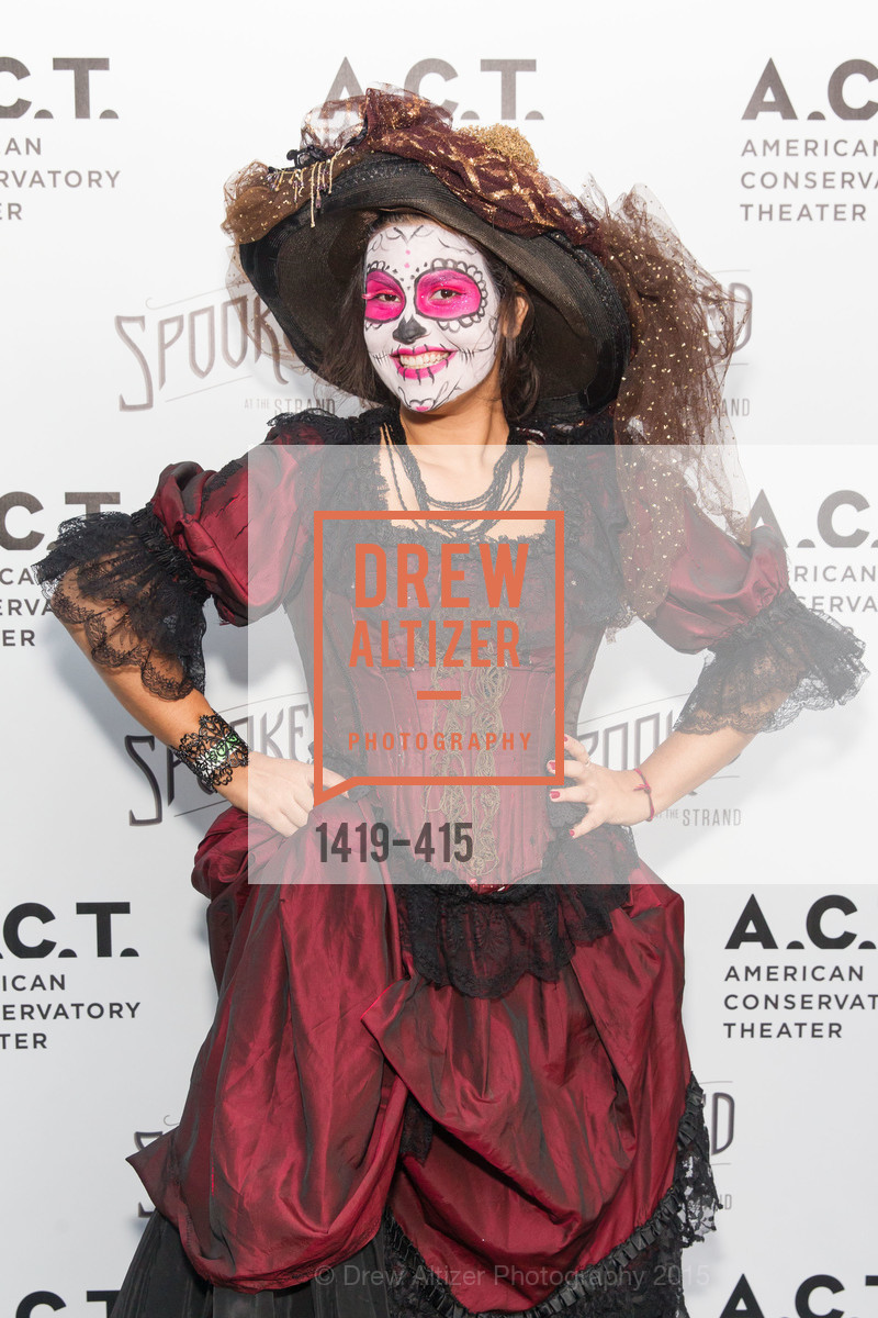 Beatriz Miranda Torres, SPOOKED AT THE STRAND Presented by the American Conservatory Theater, The Strand Theater. 1127 Market Street, October 26th, 2015,Drew Altizer, Drew Altizer Photography, full-service agency, private events, San Francisco photographer, photographer california