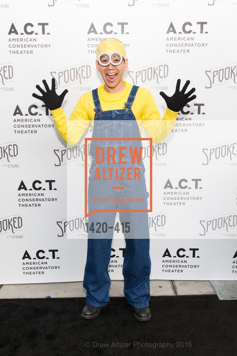 Patrick Lee, SPOOKED AT THE STRAND Presented by the American Conservatory Theater, The Strand Theater. 1127 Market Street, October 26th, 2015,Drew Altizer, Drew Altizer Photography, full-service event agency, private events, San Francisco photographer, photographer California