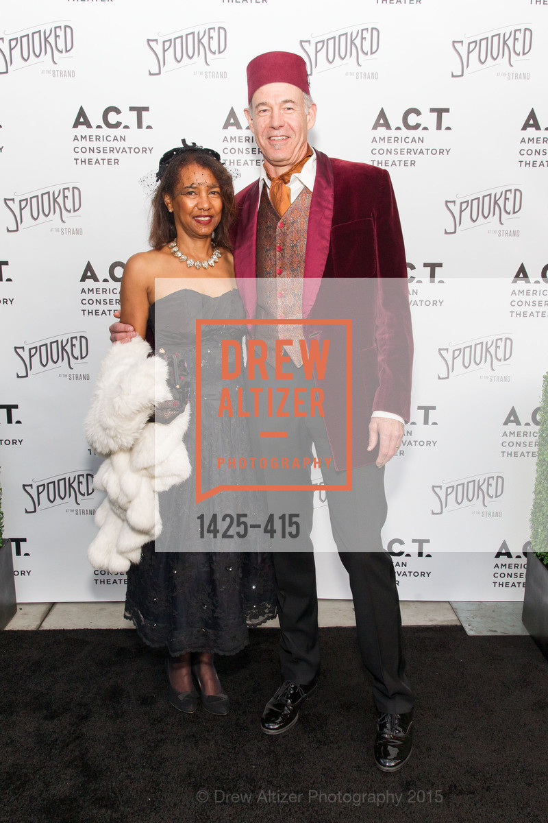 Carla Riemer, David Riemer, SPOOKED AT THE STRAND Presented by the American Conservatory Theater, The Strand Theater. 1127 Market Street, October 26th, 2015,Drew Altizer, Drew Altizer Photography, full-service agency, private events, San Francisco photographer, photographer california