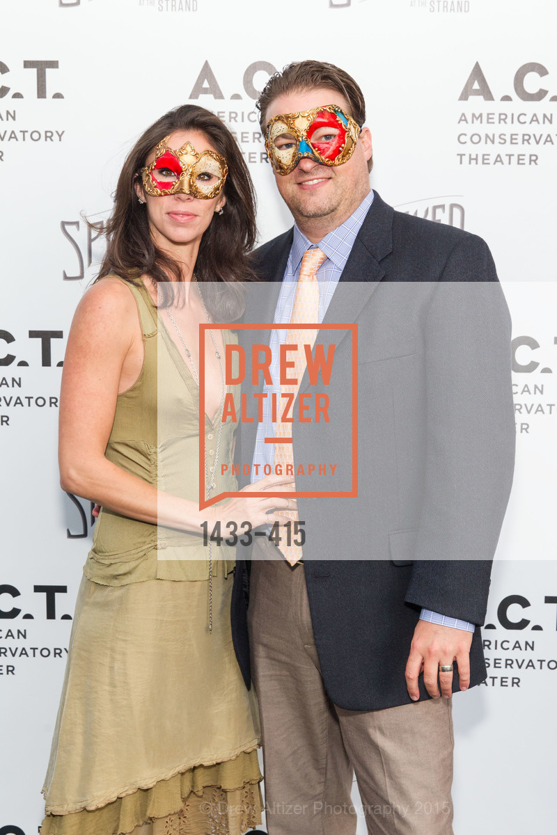 Raven Nielsen, Andrew Nielsen, SPOOKED AT THE STRAND Presented by the American Conservatory Theater, The Strand Theater. 1127 Market Street, October 26th, 2015,Drew Altizer, Drew Altizer Photography, full-service agency, private events, San Francisco photographer, photographer california